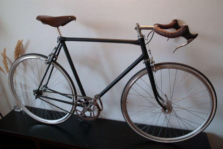 старт-шоссе 155-411 senjah Советские и старинные велосипеды ремонт реставрация
