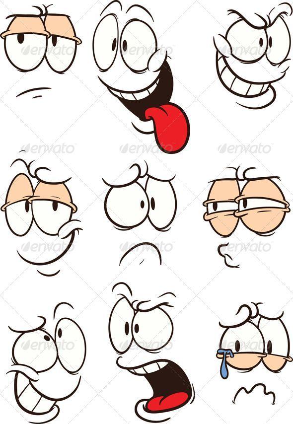 Cartoon Gesichter – #cartoon #Gesichter