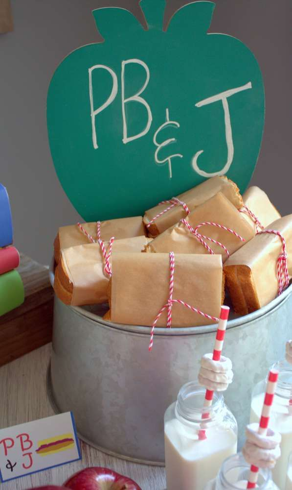 Back To School Party Snacks See More Planning Ideas At CatchMyParty