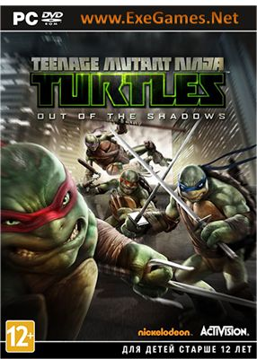Teenage Mutant Ninja Turtles: Out of the Shadows Game - Free Download Full Version For PC