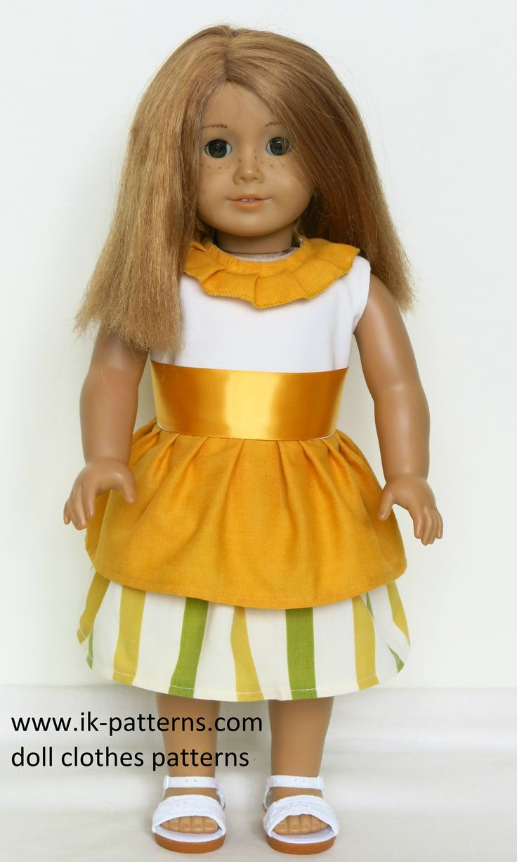 55 best images about 18 inch doll clothes dresses made for Garden tools for 18 inch doll