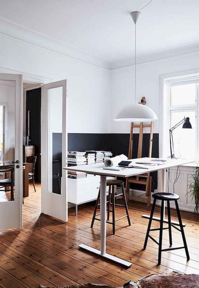 1001 Idees Pour Peindre Une Chambre En Deux Couleurs Home
