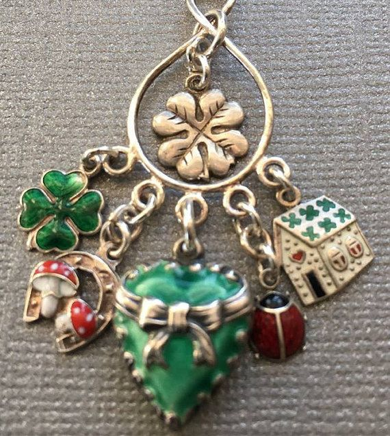 Best 449 Clover Jewelry Images On Pinterest Other
