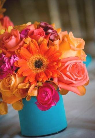 orange reception wedding flowers,  orange wedding decor, orange wedding flower centerpiece, wedding flower arrangement, add pic source on comment and we will update it. www.myfloweraffair.com