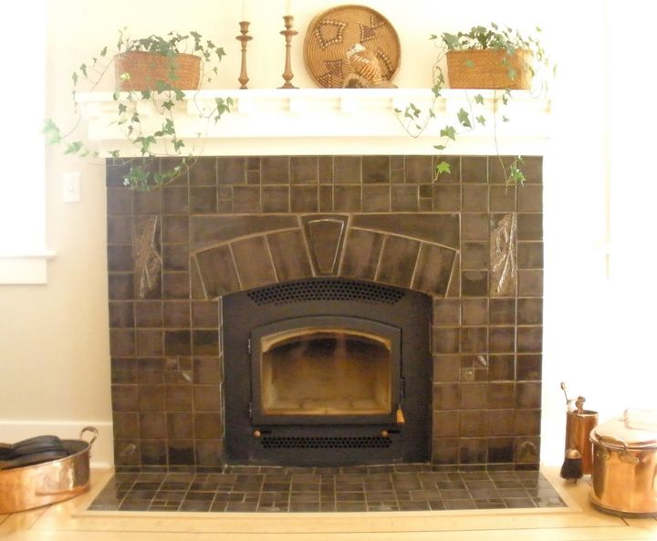 Arts And Crafts Fireplace Arts Crafts Pinterest