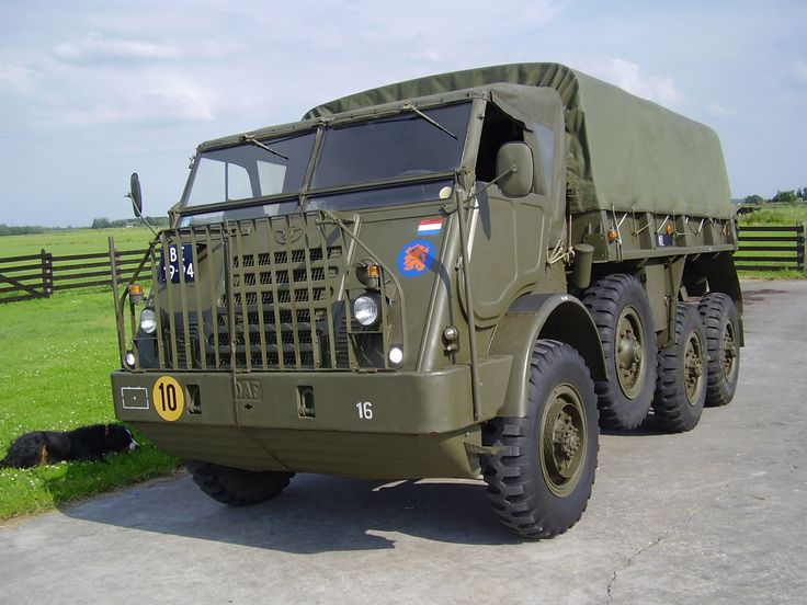 DAF YA-328, old army truck from the Netherlands. A cold war classic!