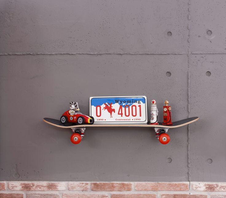 cilek champion racer skateboard regal ganz entspannt skatet dieses board an der wand und wird - Skateboard Regal Kinder Schlafzimmer