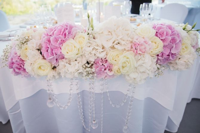 Table dhonneur et Décoration Florale - Elegance et Raffinement ...