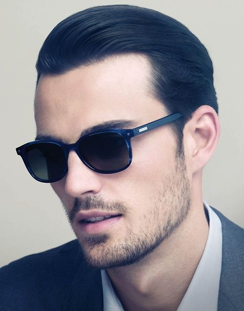 Awesome Slicked Back Hair Hairstyles For Men with Tutorial