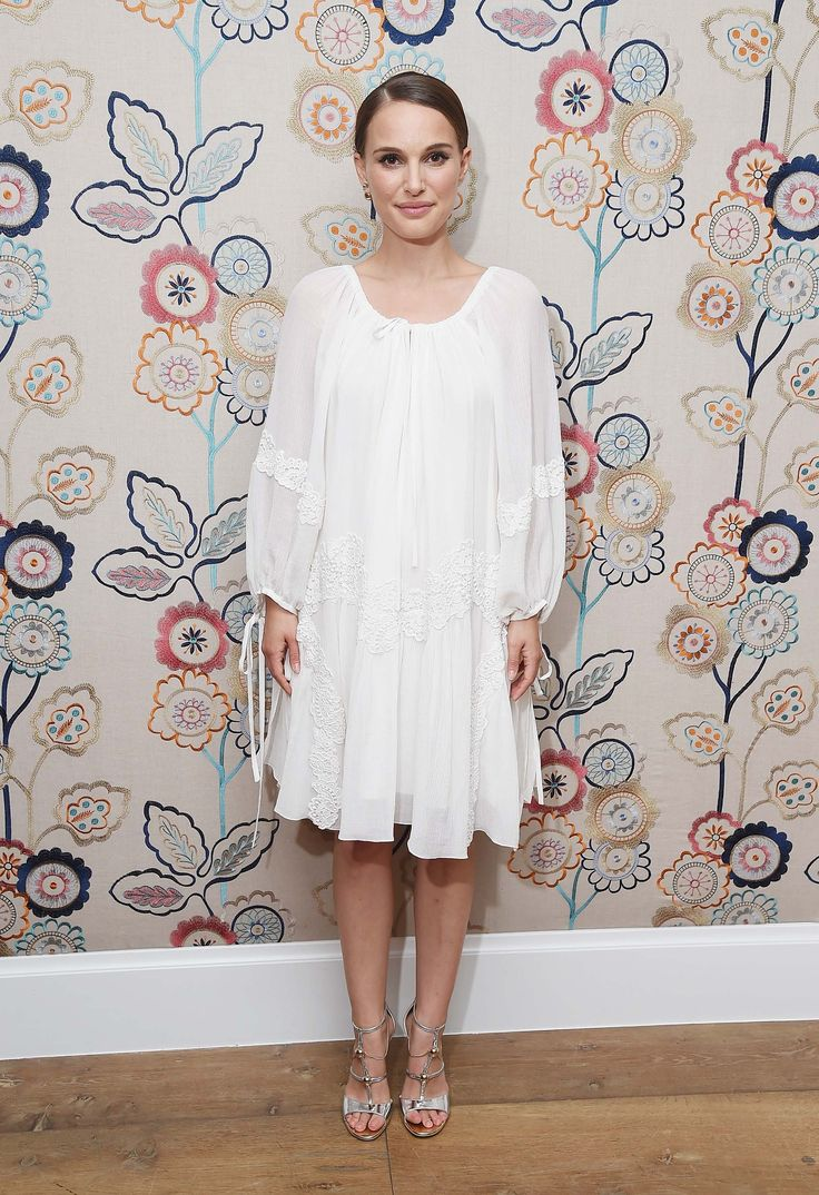 Natalie Portman Wears Four White Dresses in a Row, Proves She Understands Summer…