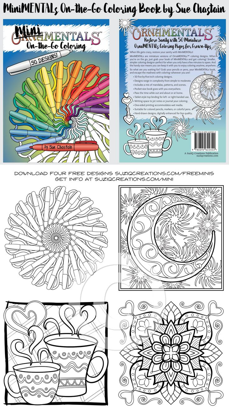Li lion king coloring games online free - Minimentals On The Go Coloring Book Adult Coloring Pagesfree