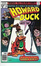 Howard The Duck #26 Bronze Age Marvel Comics UK Price Variant VF