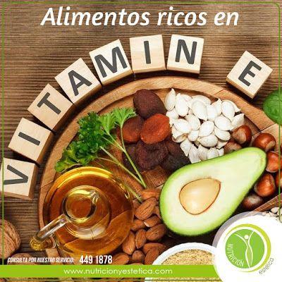 Nutricion Estetica: Alimentos ricos en vitamina E. Nutricionista Lima