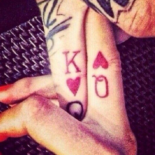 Cute couple tattoo
