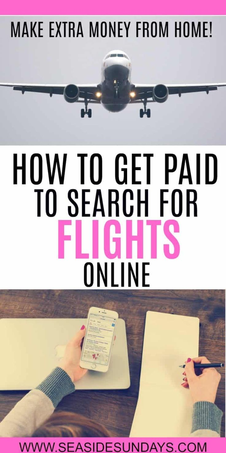 How to Make Money Searching for Flights Online – Side hustle