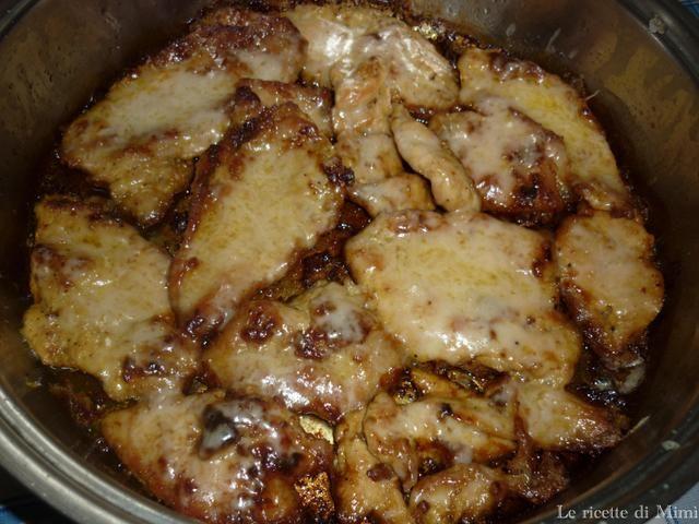 Le ricette di Mimì: Petti di pollo al parmigiano