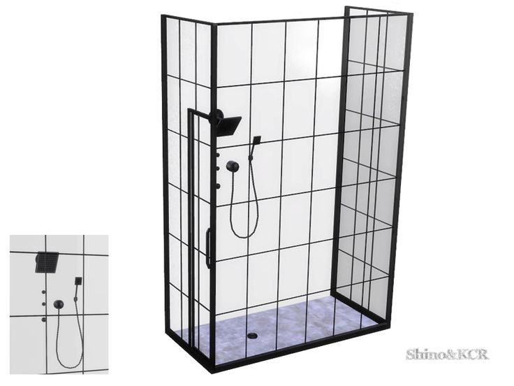 Industrial looking Shower  Found in TSR Category 'Sims 4 Showers & Tubs'