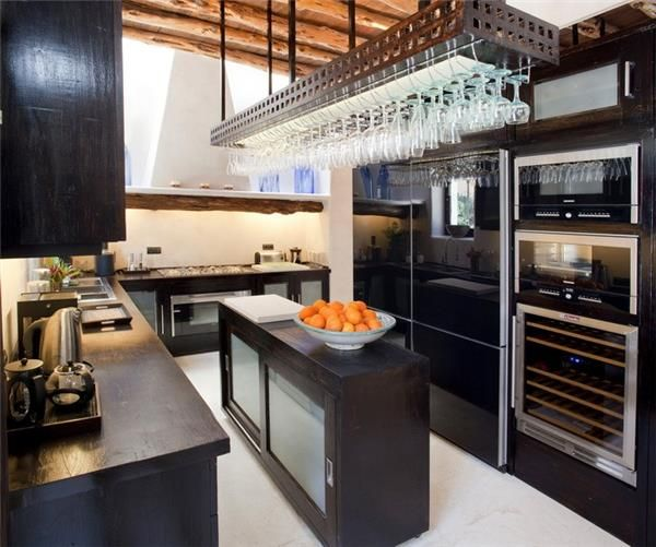 Fancy kitchen in Sant Joan De Labritja, Ibiza, Spain