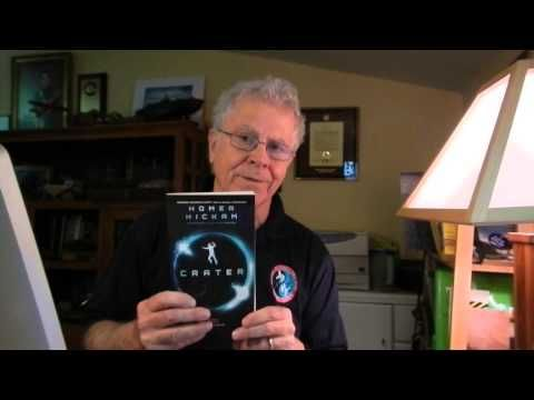 Featured video at juliearduini.com: Why Homer Hickam wrote his series of novels set on the moon in the 22nd Century