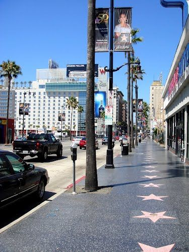Los Angeles ~ Hollywood Blvd. Hopefully we can take the kids here during our vacation!