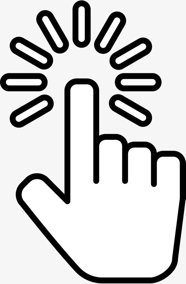 Black Click Symbol Click The Symbol Hand Click Hand Type Click Png Transparent Clipart Image And Psd File For Free Download Iphone Photo App Symbols Motion Logo