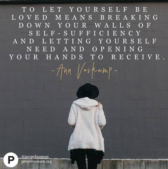 Ann Voskamp, bestselling author of #1000Gifts and the newly released #TheBrokenWay, shares with us how she dealt with her own brokenness in today's NEW ARTICLE. Read it online under the FEATURES section at PropelWomen.org.
