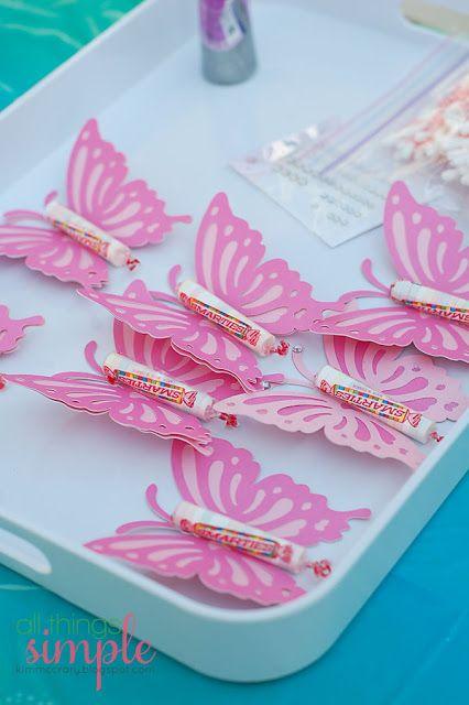 Smarties Butterflies - butterflies cut with Silhouette - bjl