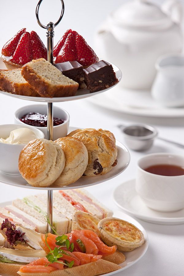 Food photography: Esplanade Hotel High Tea, Perth Product Photography