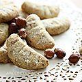 Après Les Chokinis, c'était pour moi logique d'essayer les Croissants de lune, biscuits de la marque Bahlsen. Une vraie réussite!!! Cela...