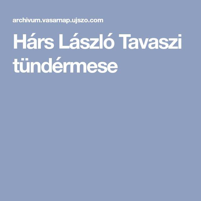 Hárs László Tavaszi tündérmese