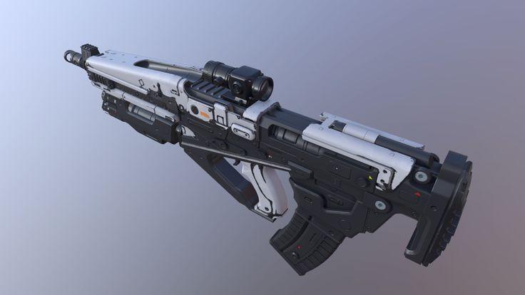 Assault Rifle (Destiny), Dmitriy Pantyukov on ArtStation at…