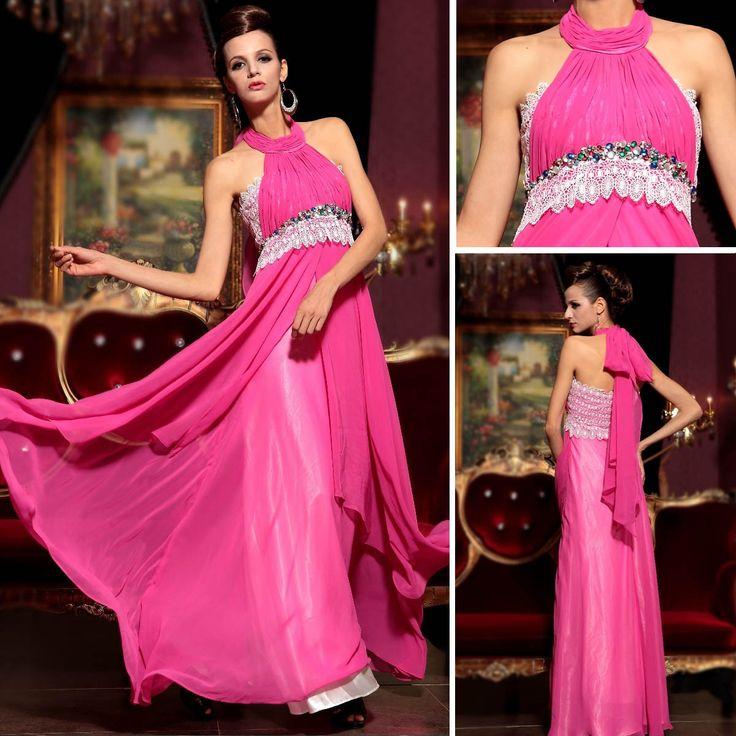 porter licol ruban de papillon pour filles mignonnes robes concours - Robe de bal sexy - Robe de bal