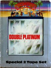 KISS Double Platinum (2 Cartridge Set)  NEW SEALED 8 TRACK CARTRIDGE TAPE