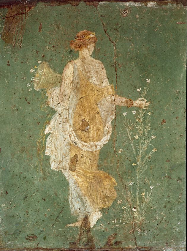 Eostra, is an Anglo-Saxon goddess who represents dawn. As a spring goddess she oversees the budding plants and burgeoning fertility of the earth.