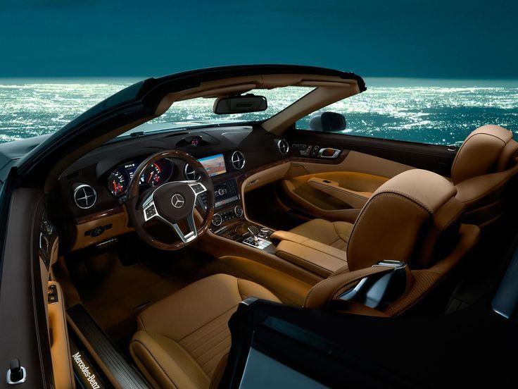 Mercedes Benz SL550 With BeigeBrown Premium Leather SL