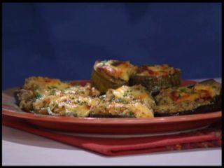 Vegetales rellenos con arroz yamaní - Conservas de tomates - Malfati de espinacas