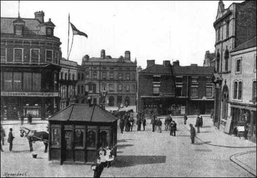 Crown Bank, Hanley Town Centre - 1893
