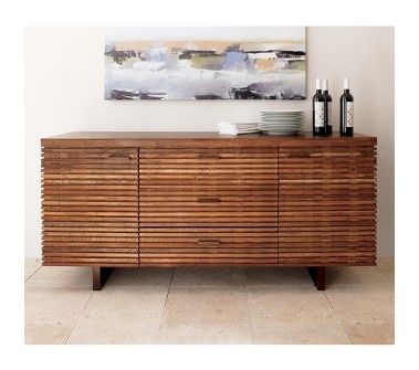 Paloma sideboard: made from thin planks of reclaimed peroba wood