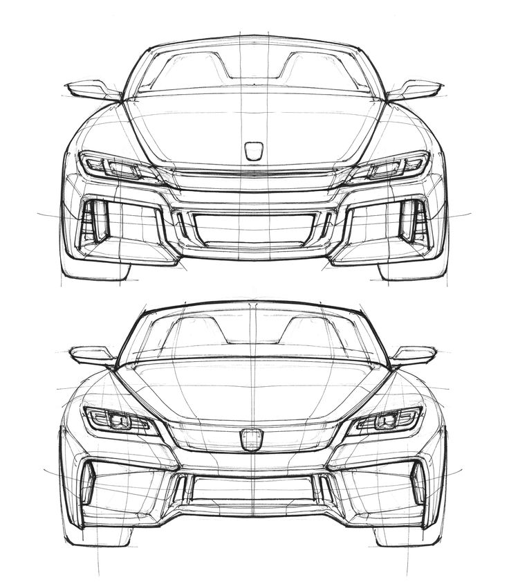S2000 Front Sketches