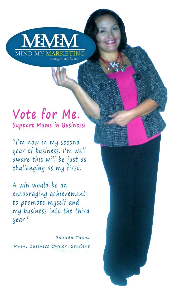 What an amazing feat it would be to be voted 'St George Bank's AusMumpreneur Service Business' Finalist in 2015! You, your friends and family can vote for me at http://www.ausmumpreneur.com/2015-peoples-choice-voting/, Category 2, Belinda Tupou.