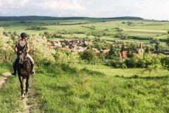 Riding in Transylvania