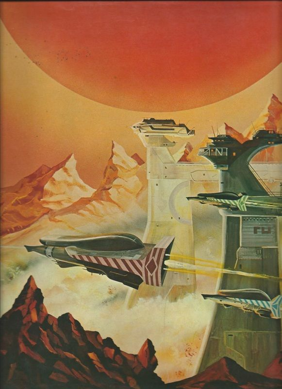 70s sci-fi art: A selection of art from Stewart...