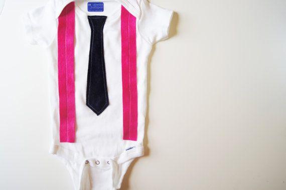 Pink! Stylish Baby Boy Clothes // Hip Baby Boy Clothes // by wildjuniper, $19.00