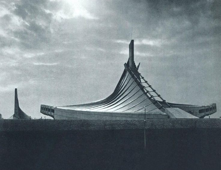 Olympic Stadium, Tokyo, JP by Kenzo Tange (1964)