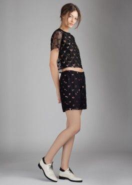 Sparkle Top Sparkle Shorts