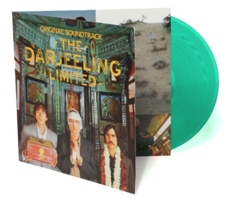 The Darjeeling Limited Original Soundtrack Lp Vinyl Wes