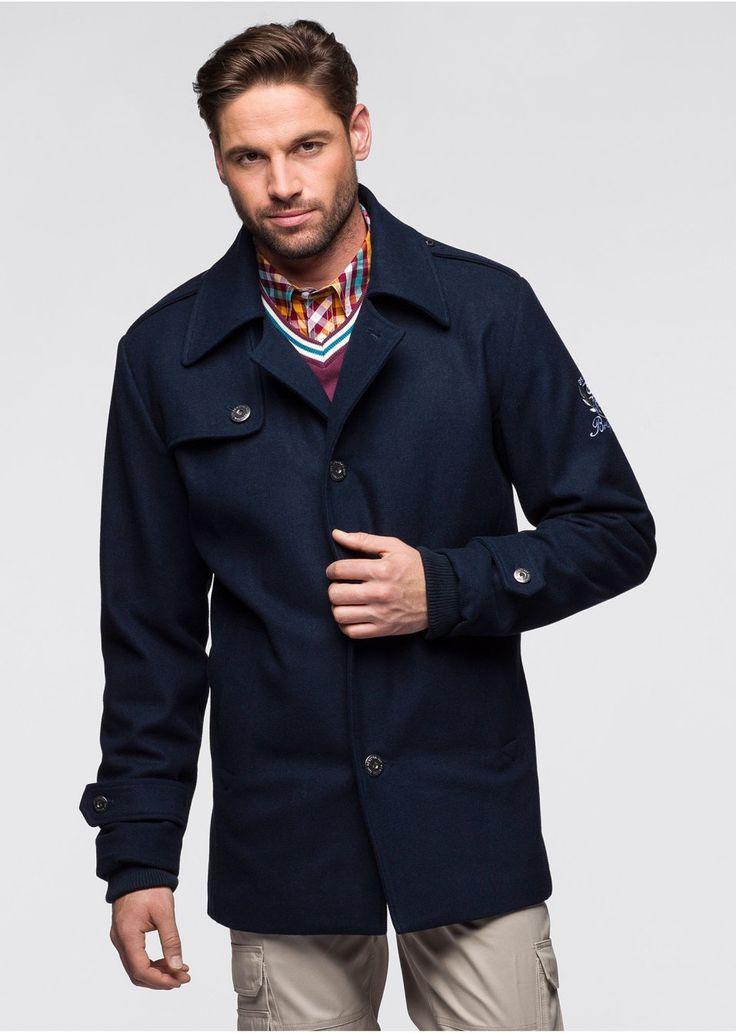 Elegant and warm coats for men available at Bonprix + 6% cashback for buying through CashOUT #cashback #mencoats #menfashion