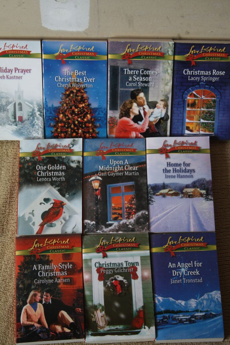 10 Love Inspired Christmas Classic books by TheKindLady on Etsy