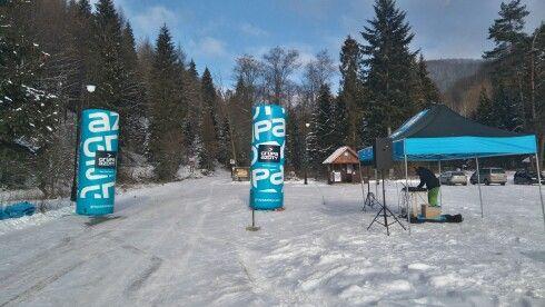 Piękna pogoda, muzyka gra. #Igorskibiegmuszyny #zima #biegamypogorach #festiwalsportowy
