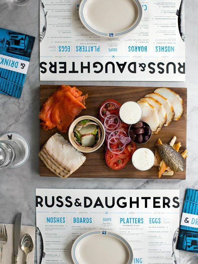 Get smoked fish at Russ & Daughters /